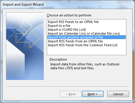 How to Export your Outlook Address Book, WPFaqhub