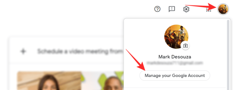 change your name on Google Meet on iPhone Android and PC, WPFaqhub