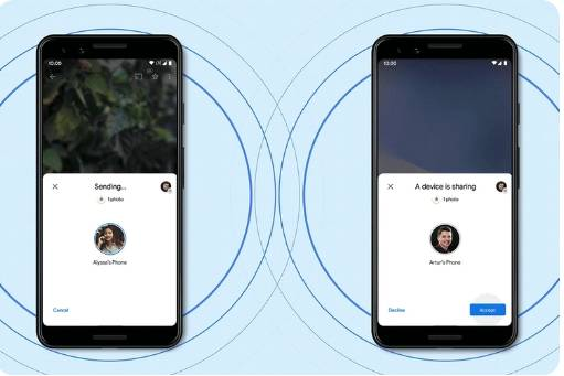Google Nearby Share is Now Rolling out on Android Phones