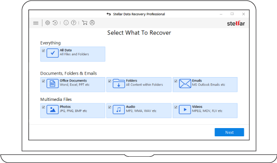 Stellar Data Recovery for videos