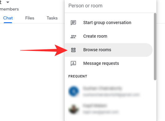 Join Rejoin Leave or Block a Google Chat Group or Room,how to join a google chat room,how to leave a google chat, WPFaqhub